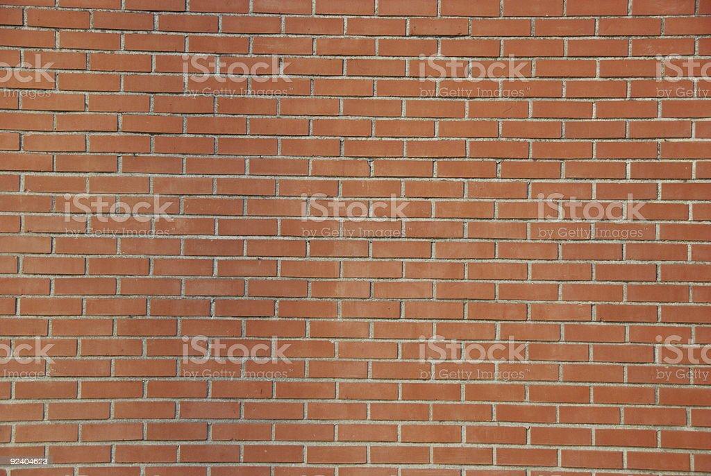 Plain Brick Wall royalty-free stock photo