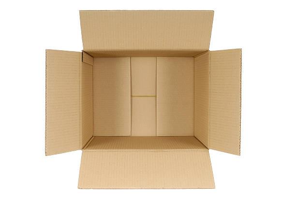 plain tekturowe pudełko - puste pudełko zdjęcia i obrazy z banku zdjęć