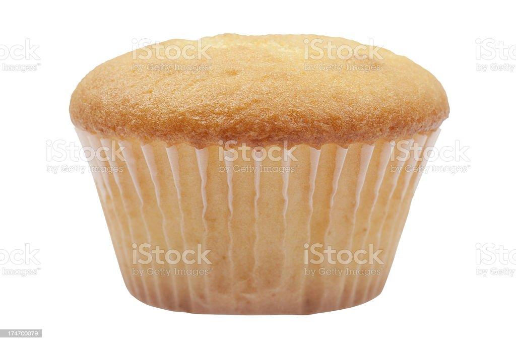 plain cupcake (XXXL) royalty-free stock photo