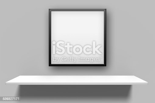 508897972 istock photo Plain Empty Picture Frame 539327171