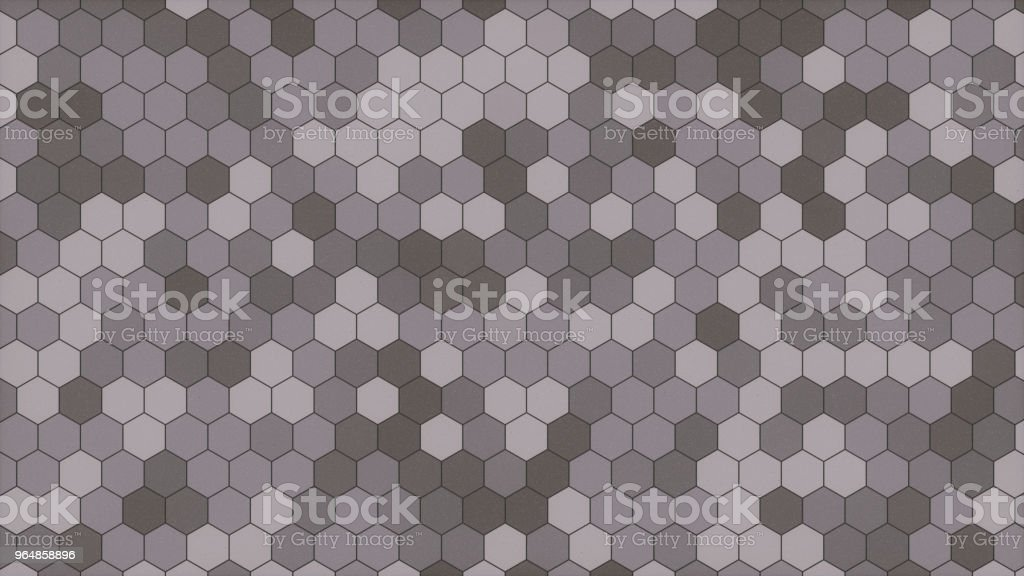 Plain gray honeycomb structure background royalty-free stock photo