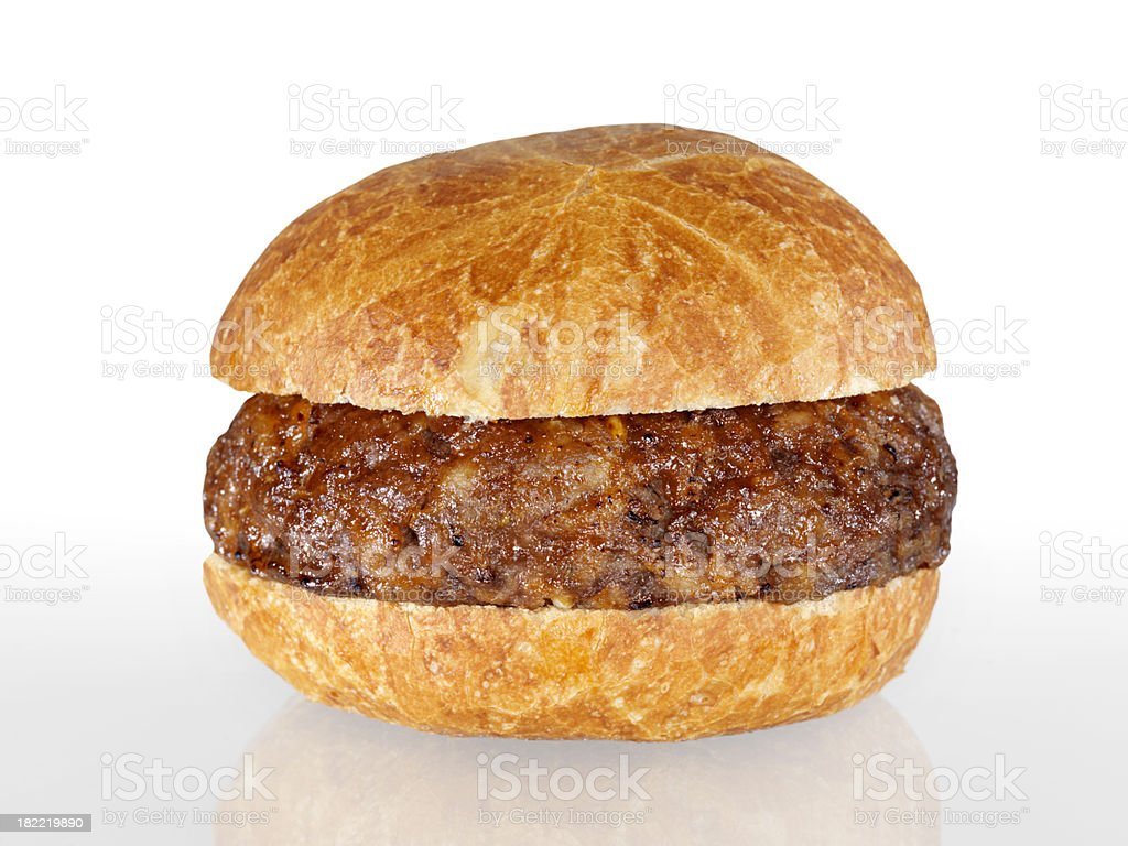 Plain Hamburger royalty-free stock photo