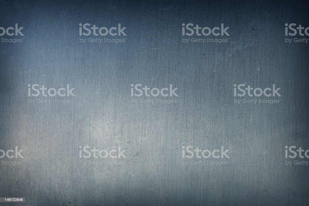 Plain iron metal background with shades of lights royalty-free stock photo
