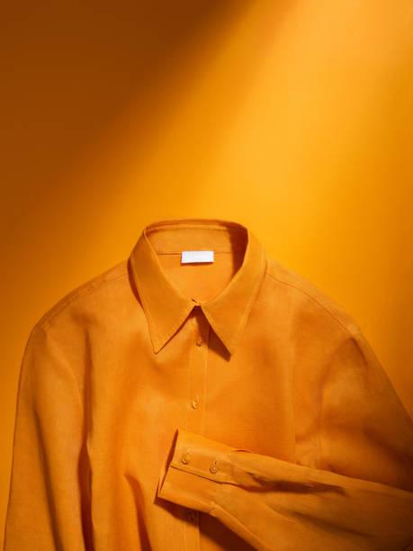 Shirt fashion orange Wholesale Clothing,