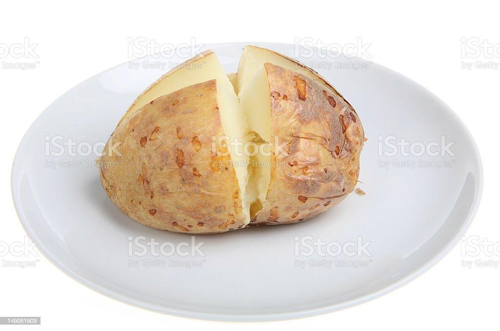 Plain Potato stock photo