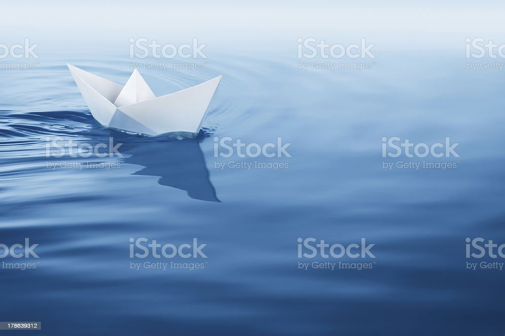 plain sailing stock photo