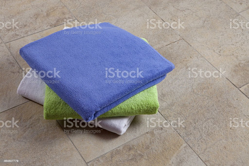Plain Towels royalty-free stock photo