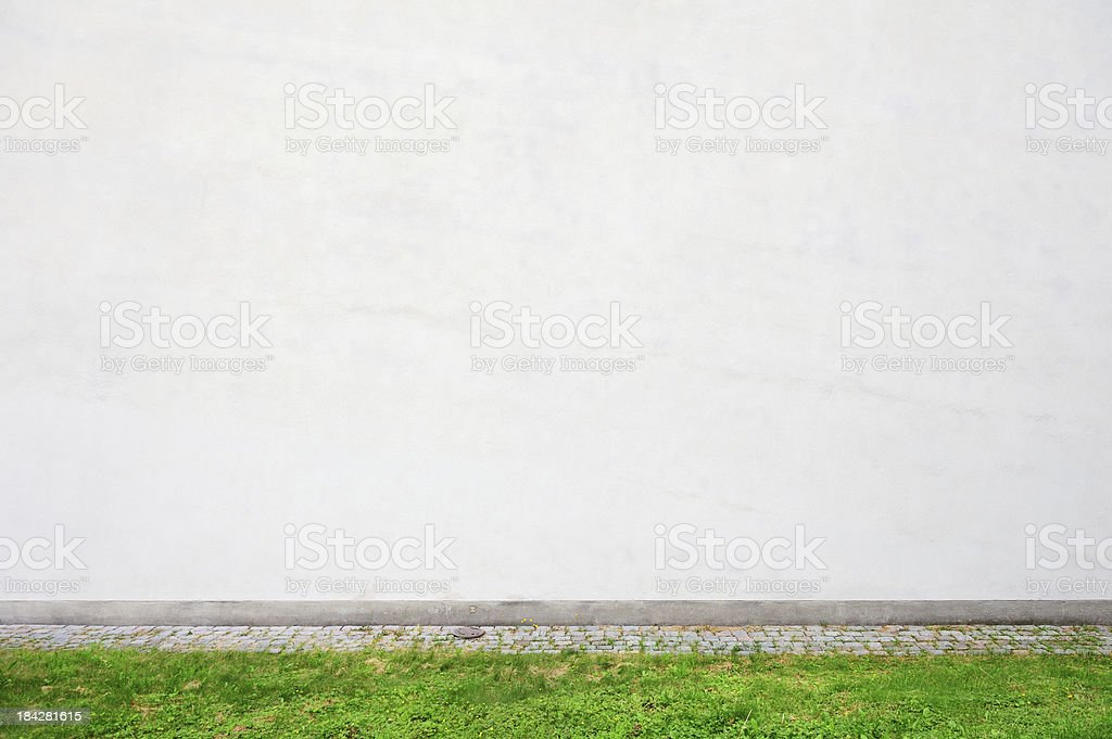 Plain wall, add your own text. royalty-free stock photo