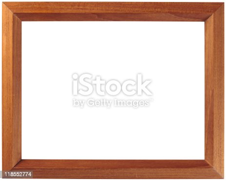 plain wooden picture frame stock photo more pictures of antique