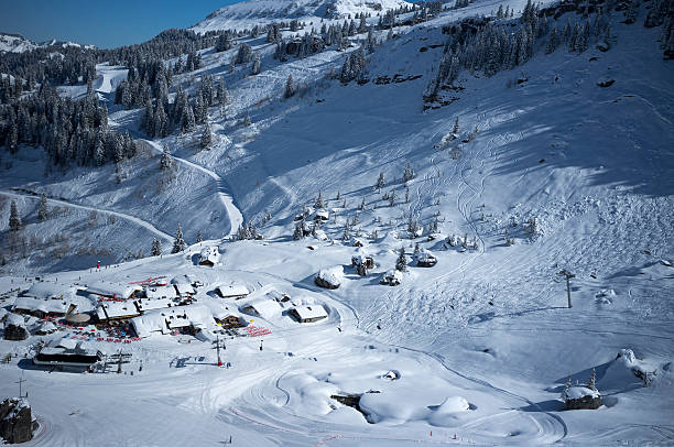 Plaine Dranse, Portes du Soleil, en France - Photo