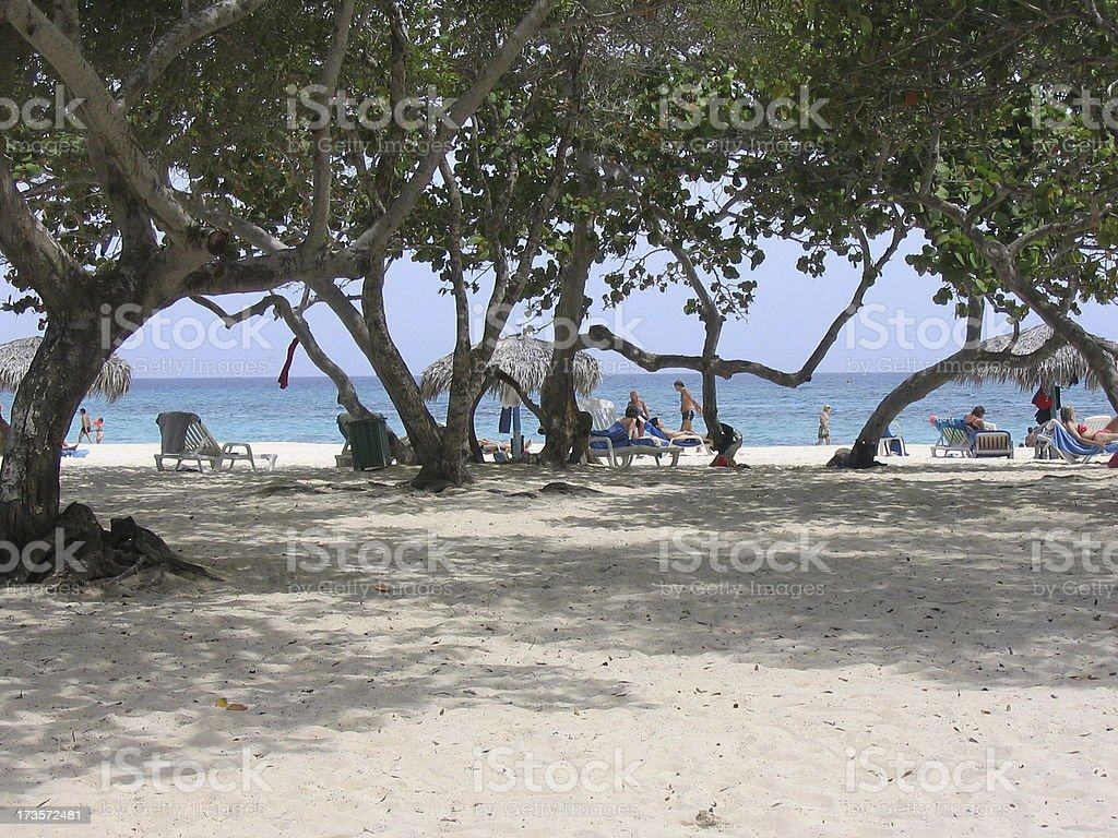 FT - Plaja Esmeralda Guardalavaca Cuba #2 royalty-free stock photo