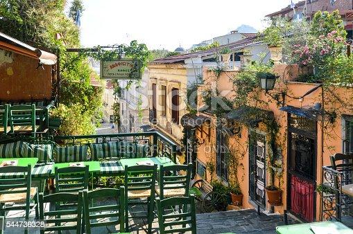 istock Plaka Neighborhood in Athens, Greece 544736328