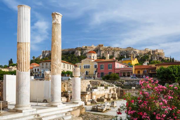 Plaka, die Altstadt von Athen. – Foto