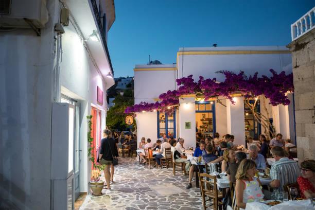 Village de Plaka avec commerces et Restaurants - Photo