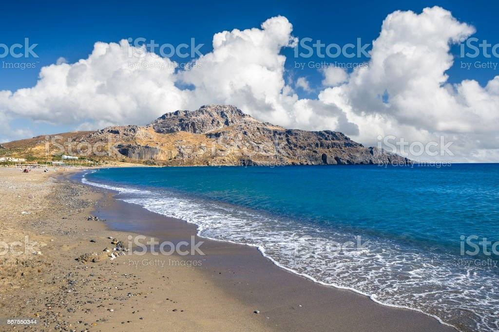 Plakias Beach At Crete Island Greece Stock Photo Download Image Now