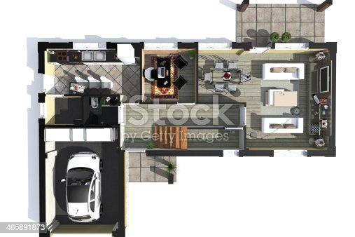istock plan axonometric 465891873