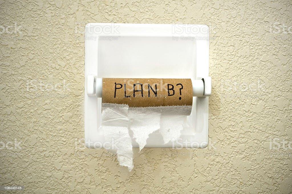 Plan B? royalty-free stock photo