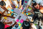 計画のクリエイティブクラスライブラリスチューデント教師アイデアコンセプト