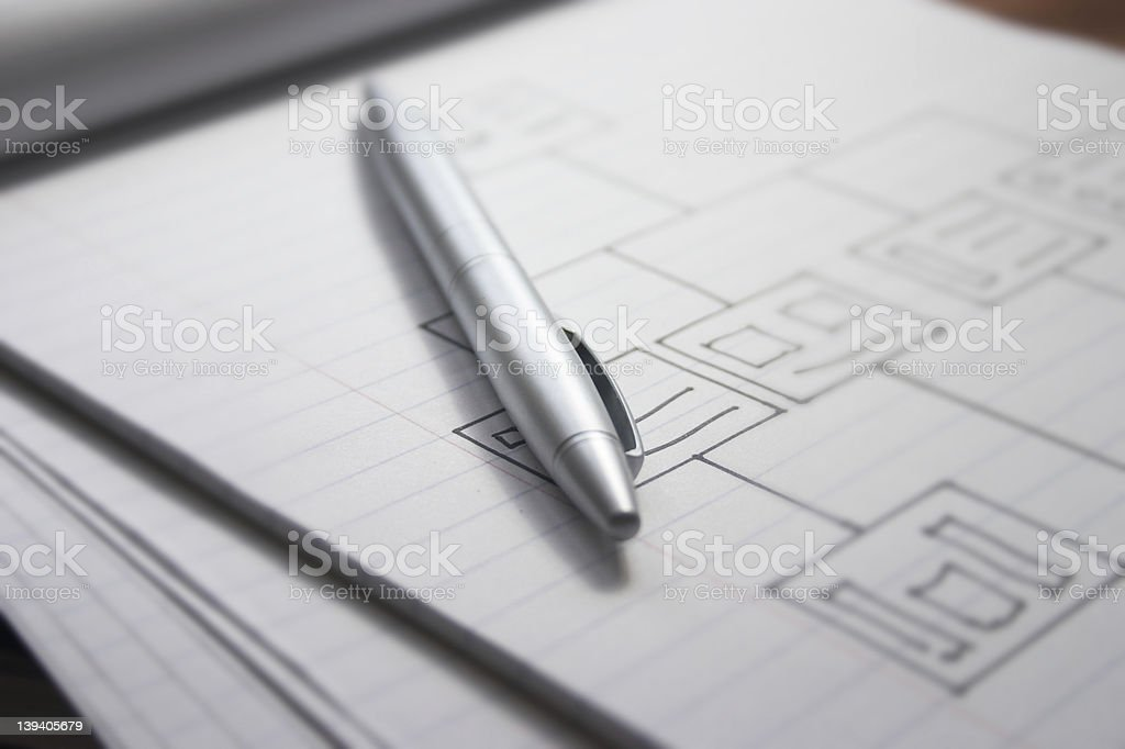 Plan of action royalty-free stock photo