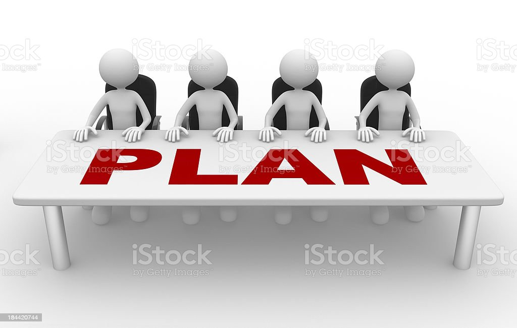 Plan royalty-free stock photo
