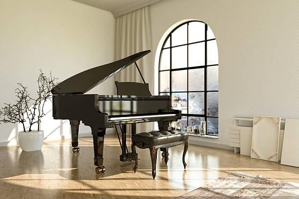 piano - klavier verkaufen stock-fotos und bilder