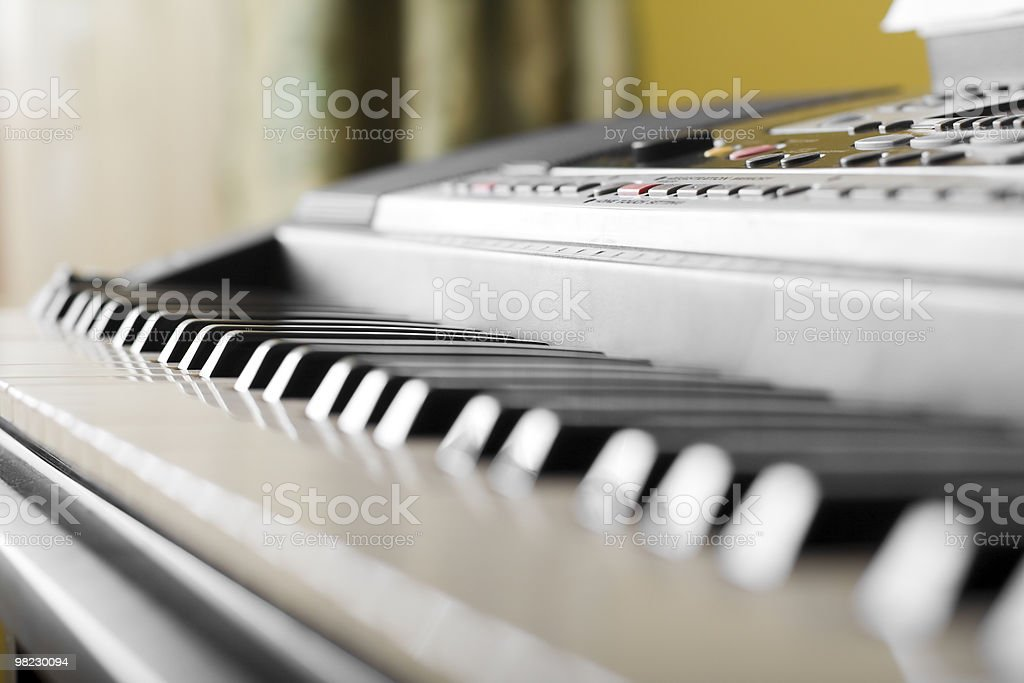 Piano. royalty-free stock photo