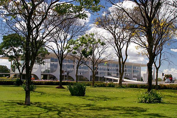 Planalto Palácio do governo brasileiro de passagens aéreas em Brasília - foto de acervo