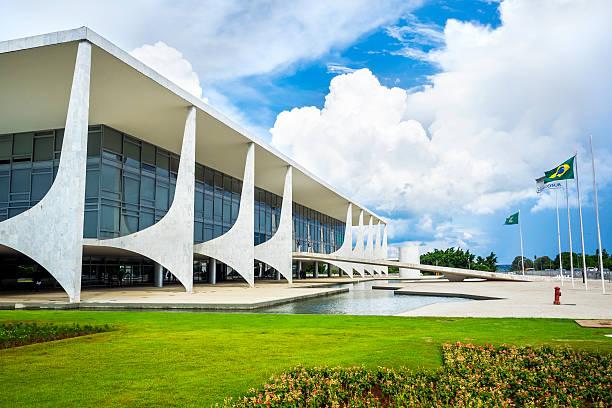 Planalto Palace in Brasilia, der Hauptstadt von Brasilien – Foto