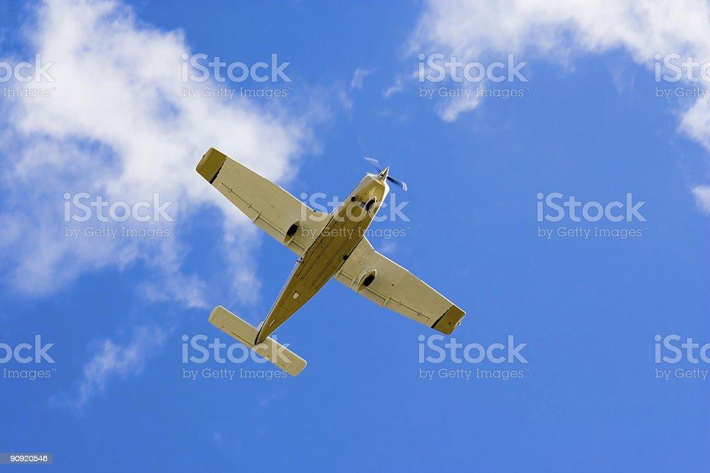 Plane 2 royalty-free stock photo