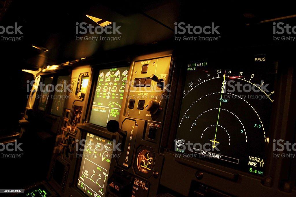 plane control stock photo