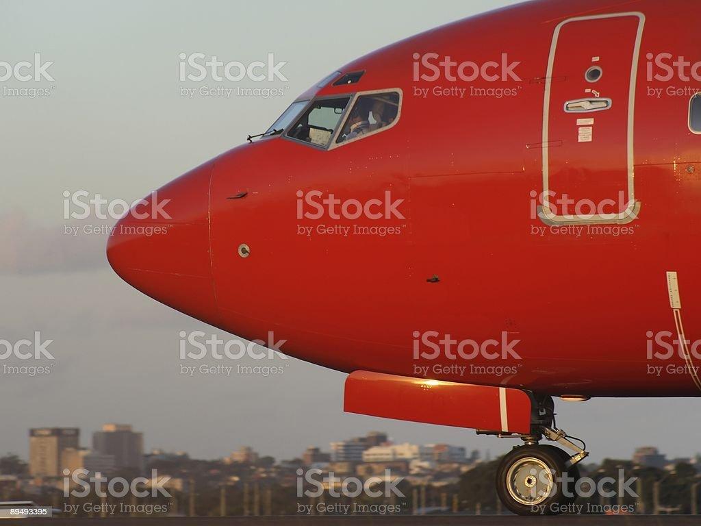 Plane Nose royalty-free stock photo