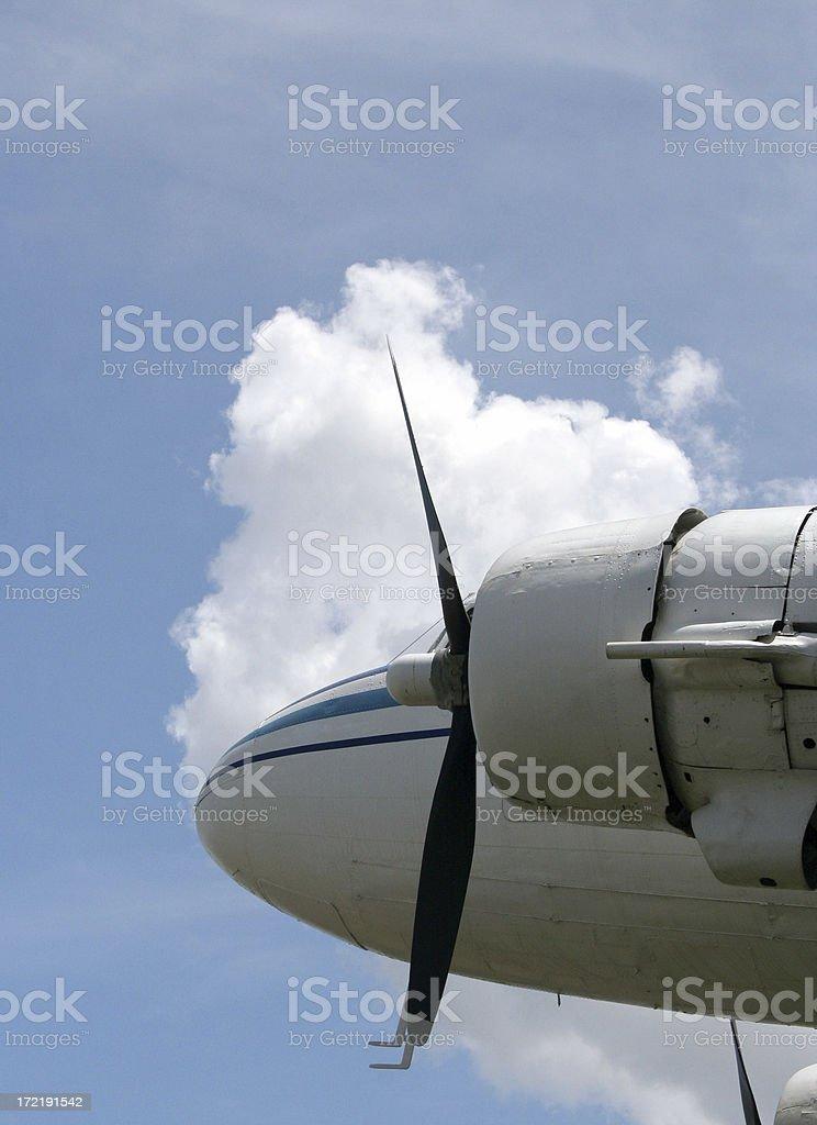 plane - Royalty-free Air Vehicle Stock Photo