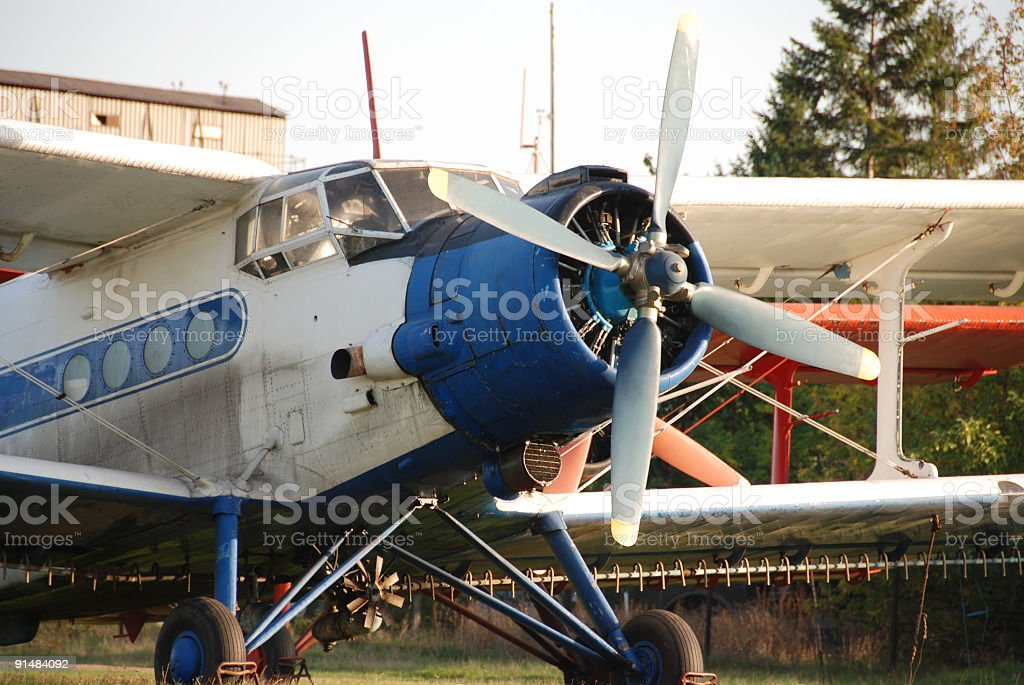 Plane series stock photo