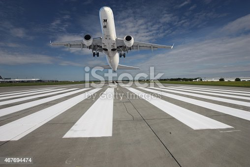 494996104istockphoto Plane taking off 467694474