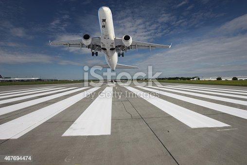 494996104 istock photo Plane taking off 467694474