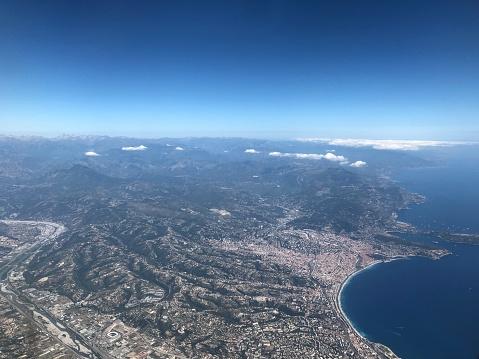 Plane View of Nice