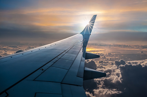 Plane View Stock Photo - Download Image Now