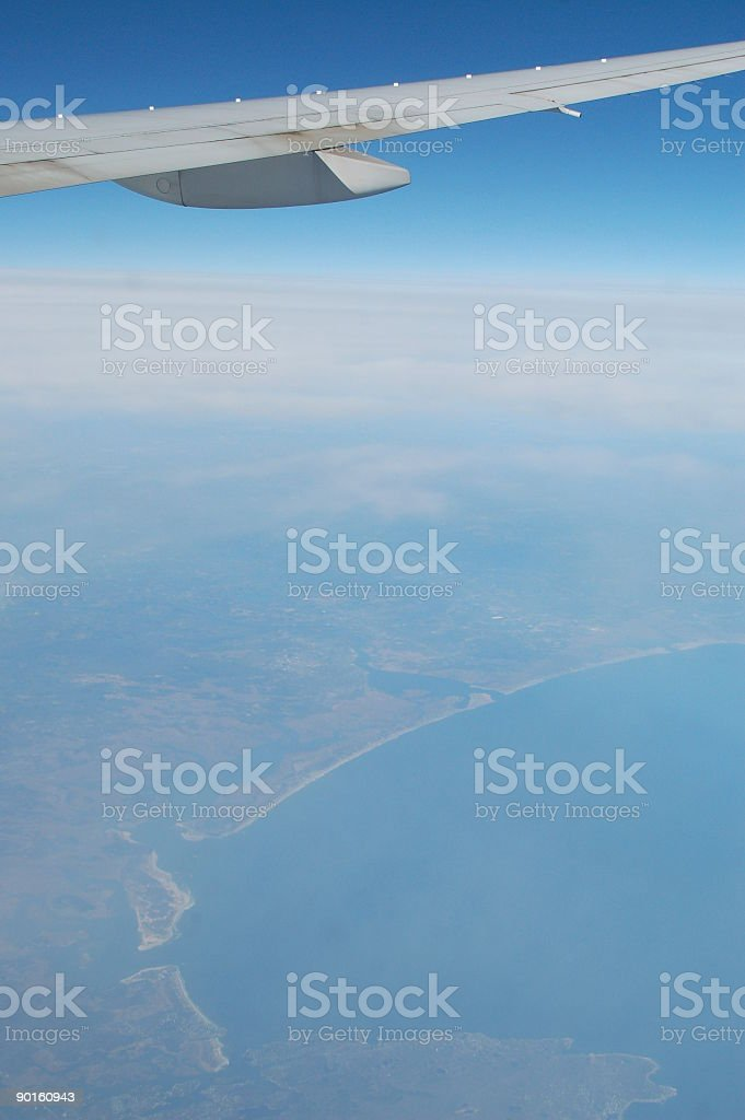 plane view royalty-free stock photo