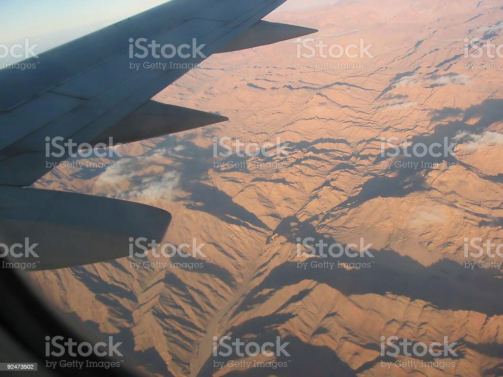 Plane View royalty-free stock photo