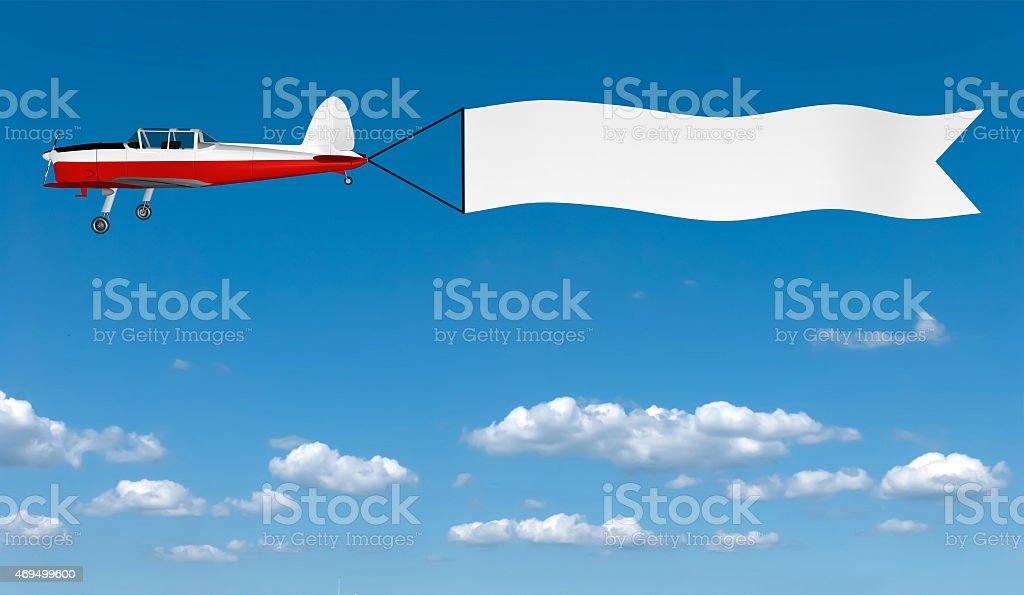 Superbe Avion Avec Bannière – Photos et plus d'images de Affaires | iStock @YM_89