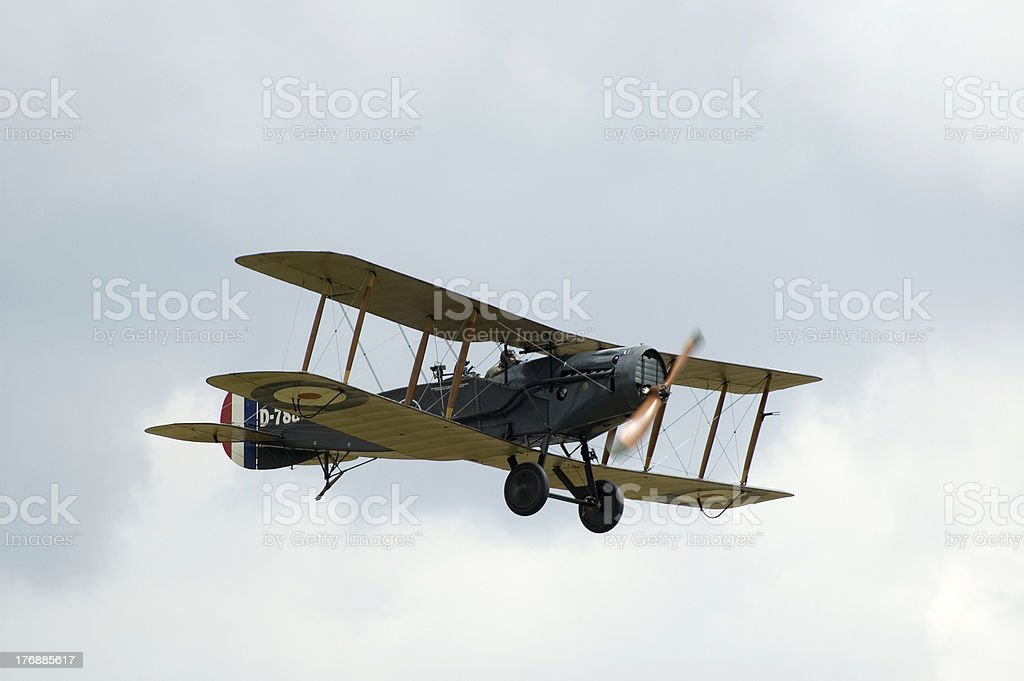WWII planes at Duxford airshow stock photo