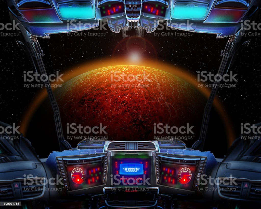 Planet 9 stock photo