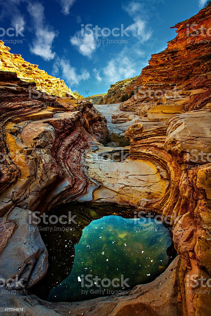 Planet Big Bend stock photo