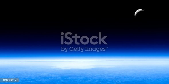 626787550 istock photo planet earth and moon 136938173