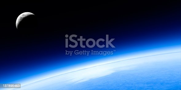 626787550 istock photo planet earth and moon 137895463