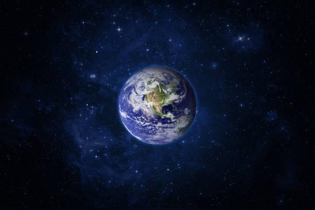 planète terre et espace. - planete terre photos et images de collection