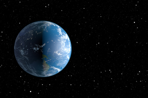 Planet Earth And Space Stock Photo - Download Image Now