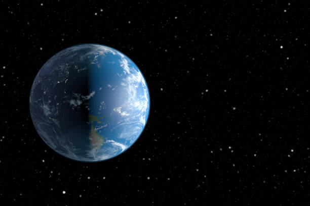 Planet Earth and Space stock photo