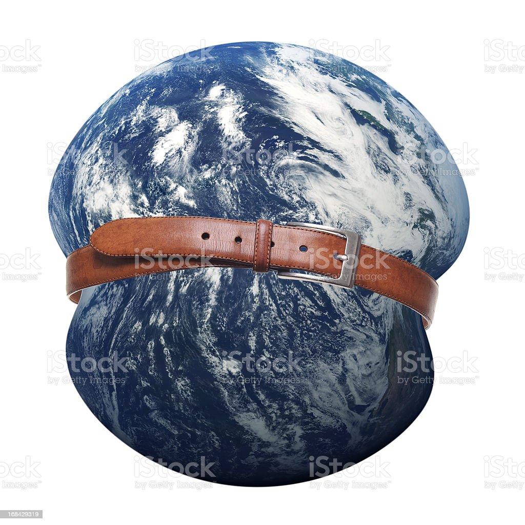 Planet Earth Belt stock photo