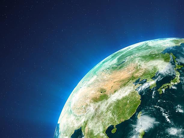 planet earth -東南アジア - 地球 日本 ストックフォトと画像